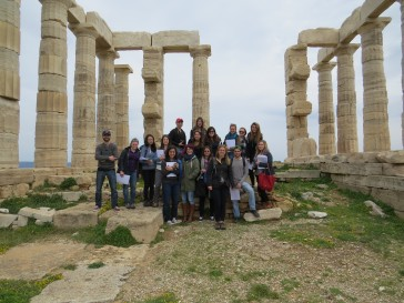 St Andrews at Sounion Greece 2015