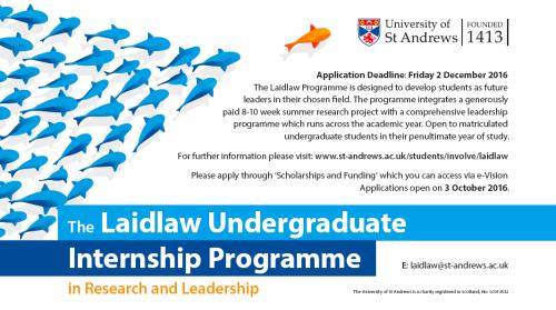 laidlaw internships