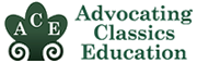 Advocating Classics Education logo .
