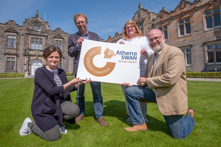 Athena Swan Bronze Award, University of St Andrews